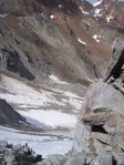 Спуск с перевала Ваннетйох по северному склону